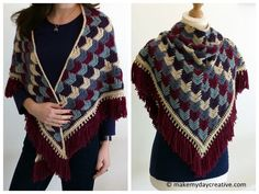 Arrow Tails Shawl