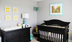 neutral nursery ideas gray