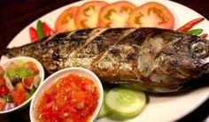 Cakalang Bakar Dabu-dabu, salah satu menu khas yang ada di Manado.