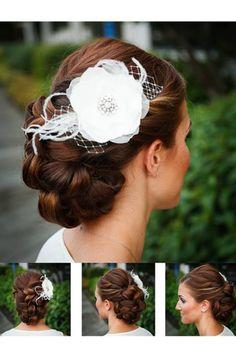 Wedding hair by Nicole at Powder Inc.