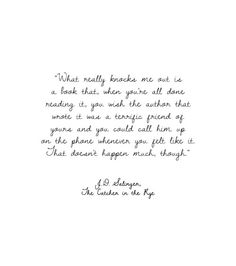 anamorphosis-and-isolate:  J.D. Salinger from The Catcher in the Rye