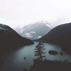 Diablo Lake by Bronson Snelling #aritziacleanslate