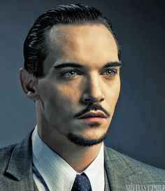 Jonathan Rhys Meyers. One of my absolute FAVORITE actors. Love him in August rush. :)
