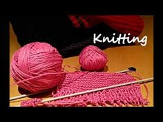KNITTING 1: HOW TO CAST ON -How to start knitting and cast on  For Beginners
