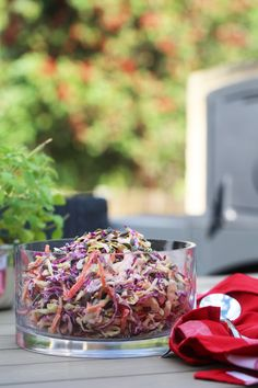 This delicious dish will put to rest any childhood nightmares you have about coleslaw - think crunchy vibrant vege, activated seeds, all doused in a delicious dairy free dressing. Summer salads are here!