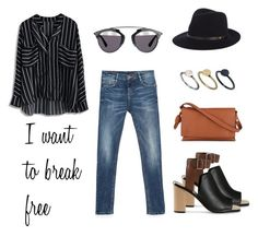 I want to... by alex-hllnz on Polyvore featuring moda, Zara, Loeffler Randall, Loewe, Just Acces, rag & bone and Christian Dior