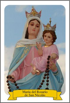 María del Rosario de San Nicolás – Virgen Peregrina del Barrio San José