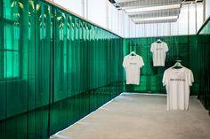 Heineken Pop up store for the Central European Fashion Days by Kiss Miklós, Budapest