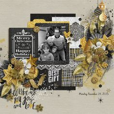 Twinkling Golden Night Mega Bundle By Paty Greif https://www.pickleberrypop.com/shop/product.php?productid=41921&page=1  #PatyGreif #pocketpage #projectlife #christmas #twinkle