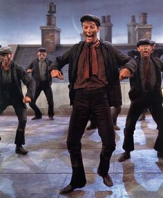 Step in time!! My favorite part of Mary Poppins.