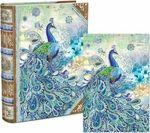 Paisley Peacock Note Cards in Keepsake Box