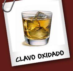El Clavo Oxidado es un coctel clásico de los mas sencillos que hay en cuanto a preparación.Un poco de whisky escoses,hielo y Drambule bastan para formar uno de los tragos mas afamado del mundo.La receta del trago Clavo Oxidado según Tragos Tragos.  Ingredientes para 1 persona  Hielo picado  1 medida de whisky escoses  1 medida de Drambuie  Preparación  1-Llene un vaso tipo old fashioned de hielo  2-Agregue el whisky y el Drambuie para luego remover bien