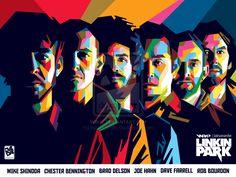 Linkin Park by laksanardie on DeviantArt