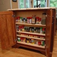 * Shallow Storage (from Cabinets by Graber Website)