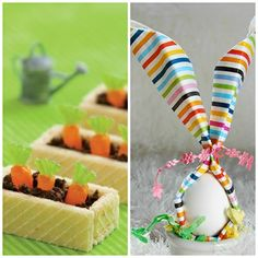 Non-oven Easy Easter Party Food for Kids (all with links to recipes)