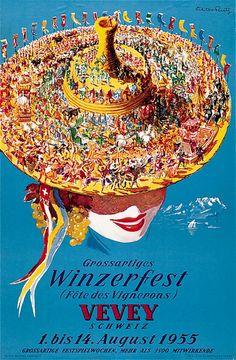 Viktor Rutz 1957 Vevey Winzerfest