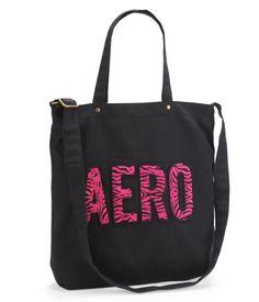 Aero Zebra Print Tote Bag 本週 AERO 秋特賣這件特賣再75折,  含國際運費不用 $630