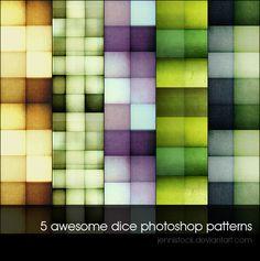 Get your design freebie -  Dice Patterns – Part 01 #patterns #photoshop #pat #psd #freebies