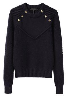 ISABEL MARANT | Sky Sweater | Shop at La Garçonne