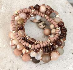 Stackable Bracelets, Cute Bracelets, Gemstone Bracelets, Handmade Bracelets, Bracelet Set, Gemstone Jewelry, Handmade Jewelry, Diamond Jewelry, Diamond Rings