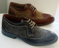 Clarks Delsin Wing in brown combi leather: love this