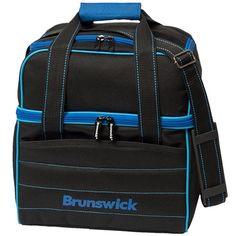 Brunswick Kooler C Single Royal / Blue Bowling Bag Brunswick Bowling, Bowling Accessories, Bowling Bags, Black Tote Bag, Briefcase, Royal Blue, Light Blue, Duffel Bags, Sports