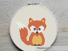 Hey, I found this really awesome Etsy listing at https://www.etsy.com/listing/192641543/cross-stitch-pattern-fox-pdf-instant