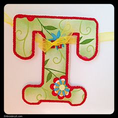 T - Embroidery It | Creative Embroidery Designs