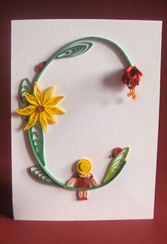 Quilling with Fun: Честитке за близанце/Cards for Twins