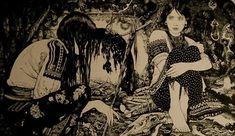 Dark Gothic Illustrations by Vania Zouravliov