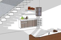 Salas multimedia de estilo Moderno por Remodelar Proyectos Integrales