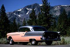 1955 Chevy Bel Air, 1955 Chevrolet, Us Cars, Vintage Trucks, American Pride, Tractors, Trains, Classic Cars, Nice