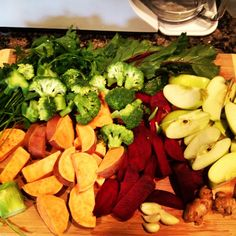 Best discovery lately: Juicing sweet potatoes! YUM!