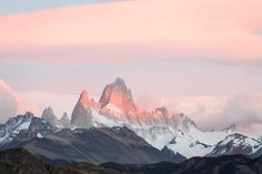 Mt. Fitzroy, Patagonia, Chile