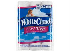 Attention Walmart shoppers! White Cloud toilet paper is tops