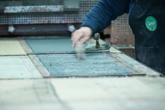 Factory - Original Meldorfer® #brick #brickslip #brickwork Solid Brick, Brickwork, The Originals