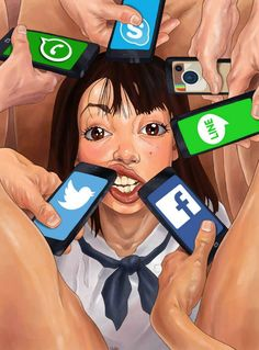 Edgy artwork by Luis Quiles