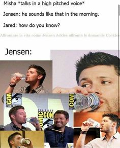 Funny Supernatural Posts That Remind You It's The Best Show Ever (Episode Supernatural Bloopers, Supernatural Tattoo, Supernatural Imagines, Supernatural Wallpaper, Supernatural Destiel, Castiel, Jensen Ackles, Dean Winchester, Dc Movies