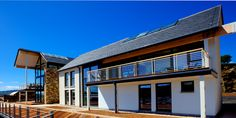 CUPA Heavy 3 was the perfect choice for Portavadie Marina, one of the UK's most contemporary marinas located in Loch Fyne | #Scotland #slate #roof #spanishslate #architecture #project