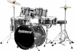 Jack really wants a drum set.  Have to go Ludwig.   Ludwig 5-Piece Junior Children's/Kids Starter Drum Set (for 3 - 8 yrs)