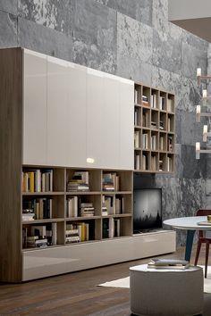 Modulare, Completo E Flessibile, Wall 30 Di # Novamobili è Il Progetto A  Spalla Portante. Due Profondità, Grande Progettualità Arricchita Da Sistemi  A ...