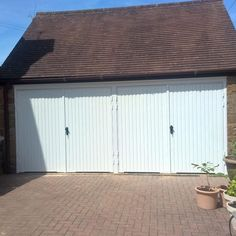 Pair of Side Hinged Garage Doors installed in Shotteswell - Elite GD Side Hinged Garage Doors, Garage Door Hinges, Outdoor Decor, Home Decor, Decoration Home, Room Decor, Home Interior Design, Home Decoration, Interior Design