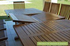 Mesas y Sillas Plegables » El Blog de Muebles de Madera y Jardin .COM