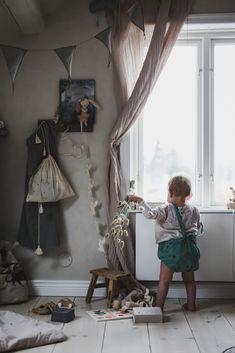 Inspiration For Kids, Room Inspiration, Nursery Decor, Wall Decor, Scandinavian Nursery, Slow Living, Kidsroom, Kid Beds, Boy Room