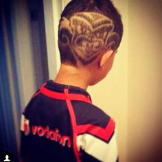 Vodafone Warriors inspired fade #WarriorsForever #Warriors #hairstyle #Haircut #Tiki