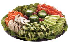 Veggie tray display