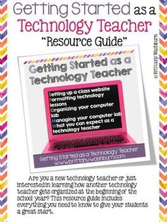 Are you a new technology teacher or just interested in learning how another technology teacher gets organized at the beginning of the school year? This resource guide includes everything you need to know to give your students a great start.