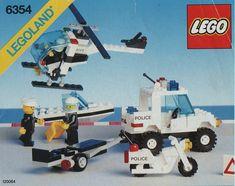 6354-1: Pursuit Squad | Brickset: LEGO set guide and database