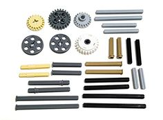 Toy Interlocking Gear Sets - LEGO Technic Clutch gear and axle set NXT ** Click image for more details. Buy Lego, Lego Technic, Building Toys, Gears, Image Link, Gear Train