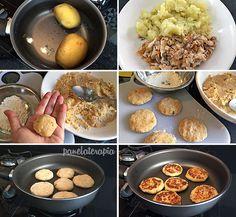 PANELATERAPIA - Blog de Culinária, Gastronomia e Receitas: Bolinho de Peixe Grelhado